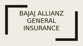 Bajaj Allianz General Insurance.pptx