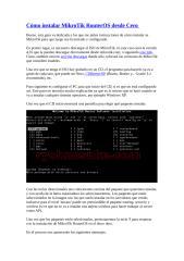 Cómo instalar MikroTik RouterOS desde Cero.doc