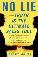 No Lie Truth Is The Ultimate Sales Tool.pdf