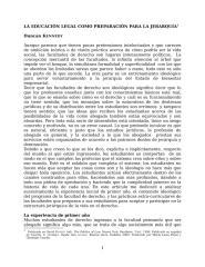 Duncan Kennedy - La Educación Legal como Preparación para la Jerarquía..doc