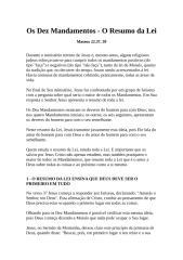 os dez mandamentos - o resumo da lei.docx