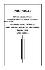 PROPOSAL UKM BUNGA.doc