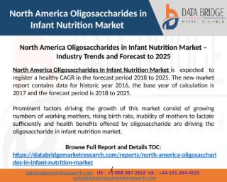 North America Oligosaccharides in Infant Nutrition Market – Industry Trends and Forecast to 2025.pptx