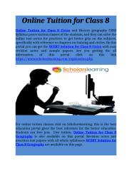 Online Tuition for Class 8.docx