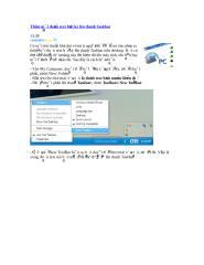 Thêm một đoạn text bất kỳ lên thanh Taskbar.doc