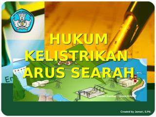 Hukum_Kelistrikan_Arus_searah.ppt