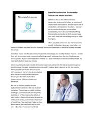 Erectile Dysfunction Treatments.docx
